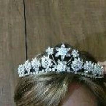 Coroa Tiara Noiva Casamento Debutante