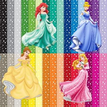 Papel Digital Princesas - Cód 074