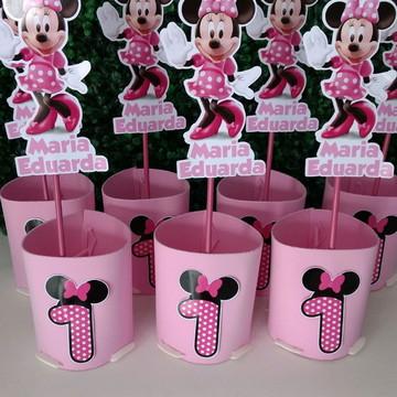 ENFEITE DE MESA Minnie rosa