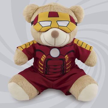 Urso Super-Herói 20cm
