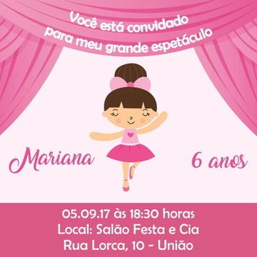 Convite Digital Bailarina 02