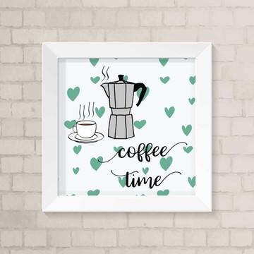 Quadro Cozinha - Coffee Time