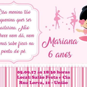 Convite Digital Bailarina 03