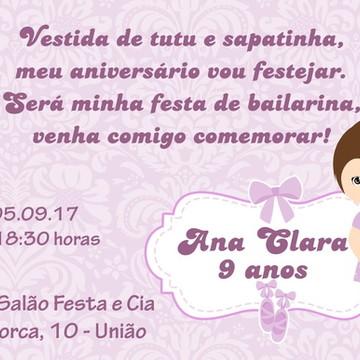 Convite Digital Bailarina 04