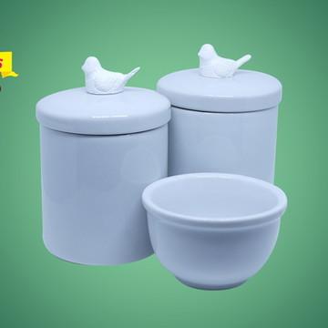 Kit Higiene Bebê porcelana