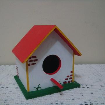 Casa de passarinho pequena