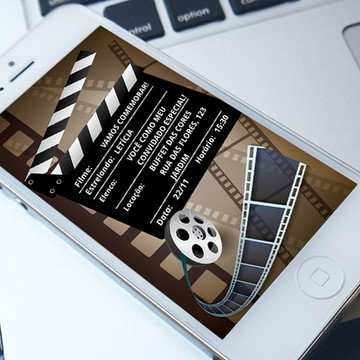 Convite Digital Cinema - Whatsapp