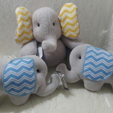 Elefantinho e almofadinhas elefante