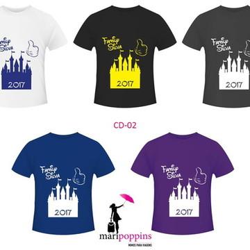 Camiseta Disney - Family Trip