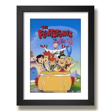 Quadro The Flintstones Serie Cartoon F51