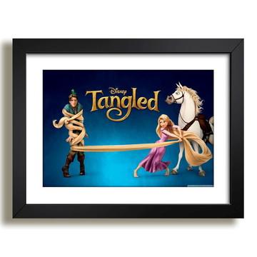 Quadro Desenho Tangled Rapunzel F51