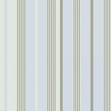 Papel de Parede Listrado Cinza E Azul