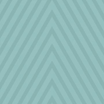 Papel de Parede Listrado Triangular Azul