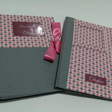 Kit Caderneta de vacina + Livro do Bebê