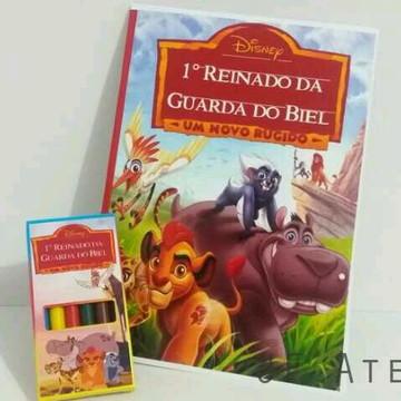 Livrinho de Pintar A Guarda do Leão