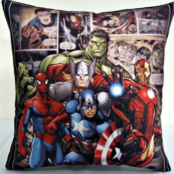 Almofada personalizada super herois40x40