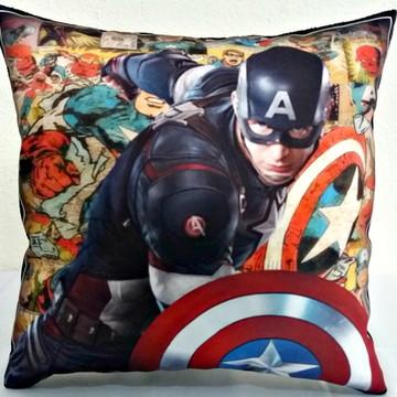 Almofada personalizada Capitão América