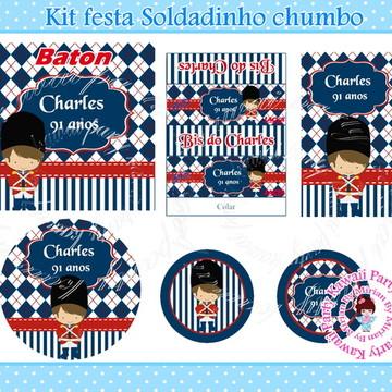 Kit festa Soldadinho Chumbo