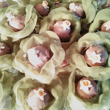 Forminhas verde para doces finos