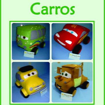 Moldes Carros Disney