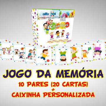 Jogo da Memória do Dia das Crianças