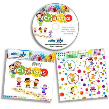 DVD ou CD para o Dia das Crianças