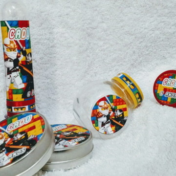 Kit Festa Lego Ninja c/ 30 peças