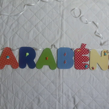 Bandeirolas-Varal festa