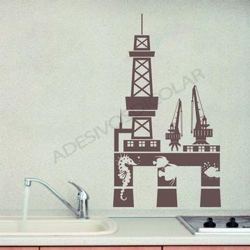 Adesivo - DIVERSOS - Plataforma petróleo