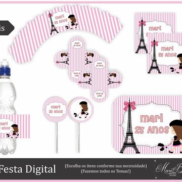 Kit Festa Digital - Paris