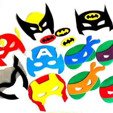 Máscara Eva Super Heróis