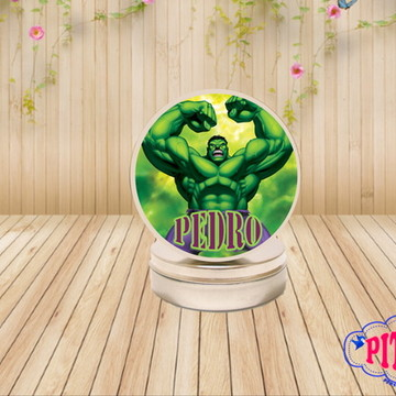 LATINHA HULK MINT TO BE