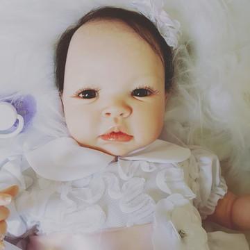 Bebe Reborn Nicole Detalhes Reais Barata