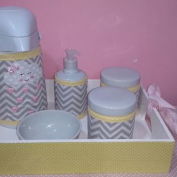 kit Higiene com 6 peças