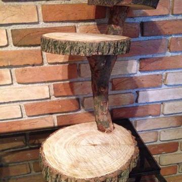 Torre - bolachas de madeira