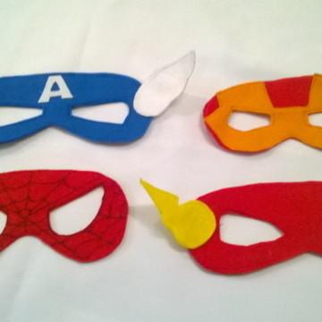 Mascaras Super Heróis & Heroínas