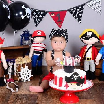 Conjunto Smash The Cake Piratas