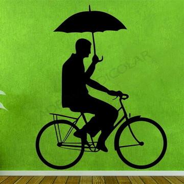 Adesivo - TODOS - Tiozinho na bicicleta