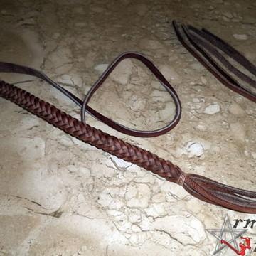 Alça de couro trançada para Horn