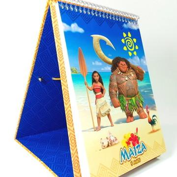 Display: Caderninho + Lápis de Cor Moana