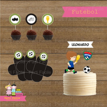Kit festa impresso - Futebol
