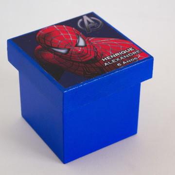 Lembrancinha MDF Homem Aranha