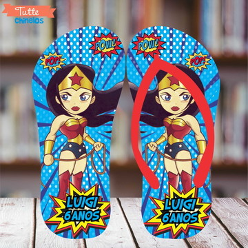 Chinelo Personalizado Super Heróis 3