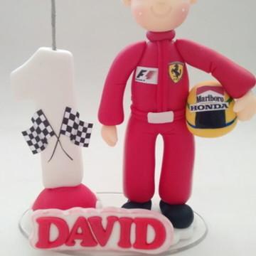 Topo de bolo Formula 1