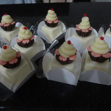 Mini trufas personalizadas Cupcake