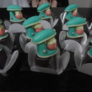 Mini trufas personalizadas Batedeira