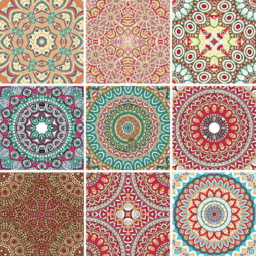 Adesivo Azulejo Mandalas Diversas