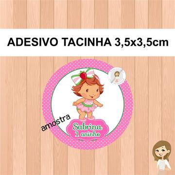 f1146ff37 Rótulo para Tacinha Moranguinho