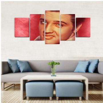 Quadro Elvis Presley Vintage - QCMA0136