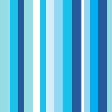 Papel de Parede Listrado Tonalidade azul